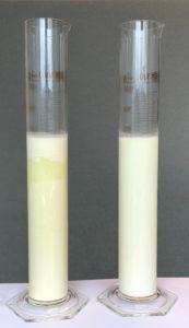 Stabile Ferkelmilch im Vergleich zu herkömmlicher Ferkelmilch